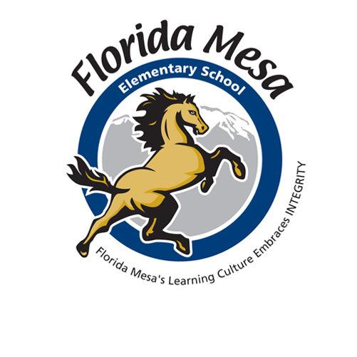 Florida Mesa Elementary School Logo Design