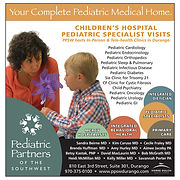 Pediatric Partners Print Design