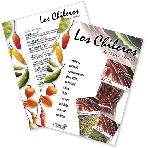 Los Chileros Print Design