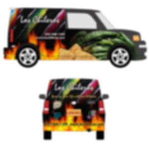 Los Chileros Vehicle Graphics Design