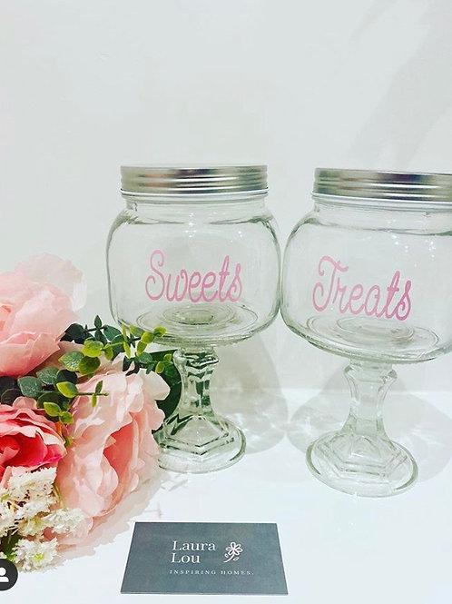 Tall Sweet Jars