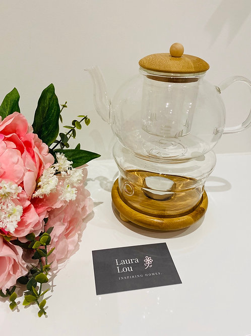 Glass Infused Tea Pot