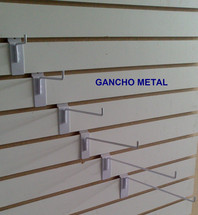 Gancho Blister 3/16 Blanco