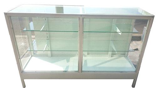 Vitrina  Metálica Exhibidora 1.50x55 Largo