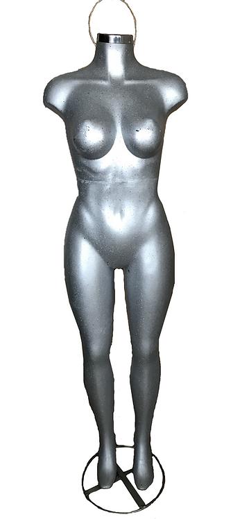 Maniquí barbie de mujer completo fibra de vidrio Busto