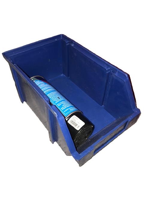 Gaveta De Plástico Apilable Organizador #3 De 18x29x14 Cm