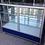 Vitrina exhibidora aluminio  aparador mostrador 1.50x40