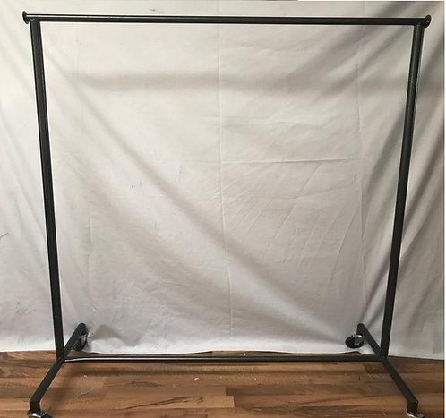 Rack Tipo Closet Viajero Colgador Ropa 2 Niv. 1.50m MOD-G15-180-1N