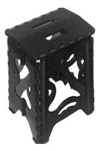 Banco plegable Plastico Negro