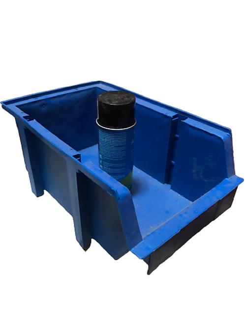 Gaveta De Plástico Apilable Organizador #4 De 24x39x17 Cm