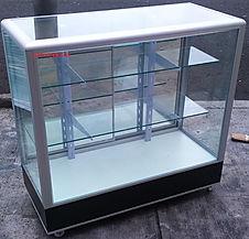 Vitrina Exhibidora de Aluminio