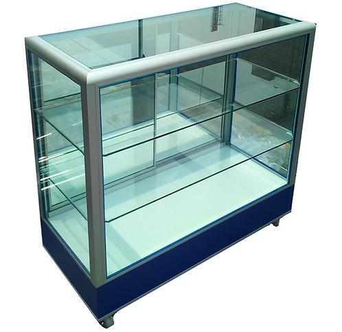 Vitrina Exhibidora Mostrador Cristal Aparador 1.00x.40