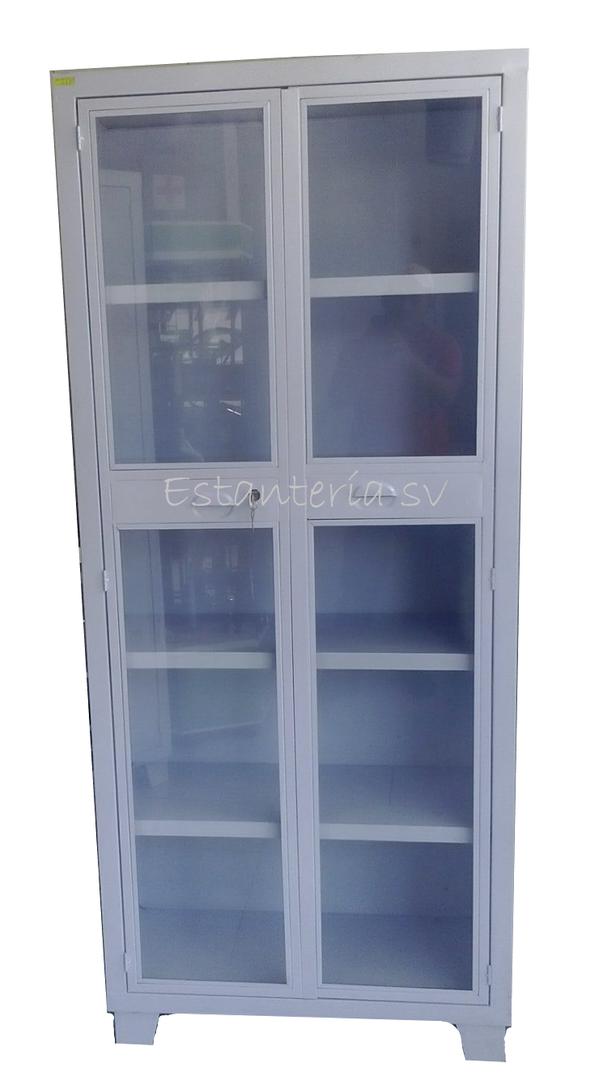Gabinete Blanco .80x.35x1.88 Puerta Cris