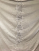 Tira porta Gorra 5 niveles