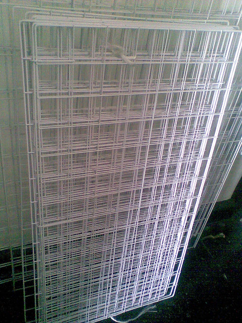 Reja De Alambre Malla Exhibidor De .50x1.00m