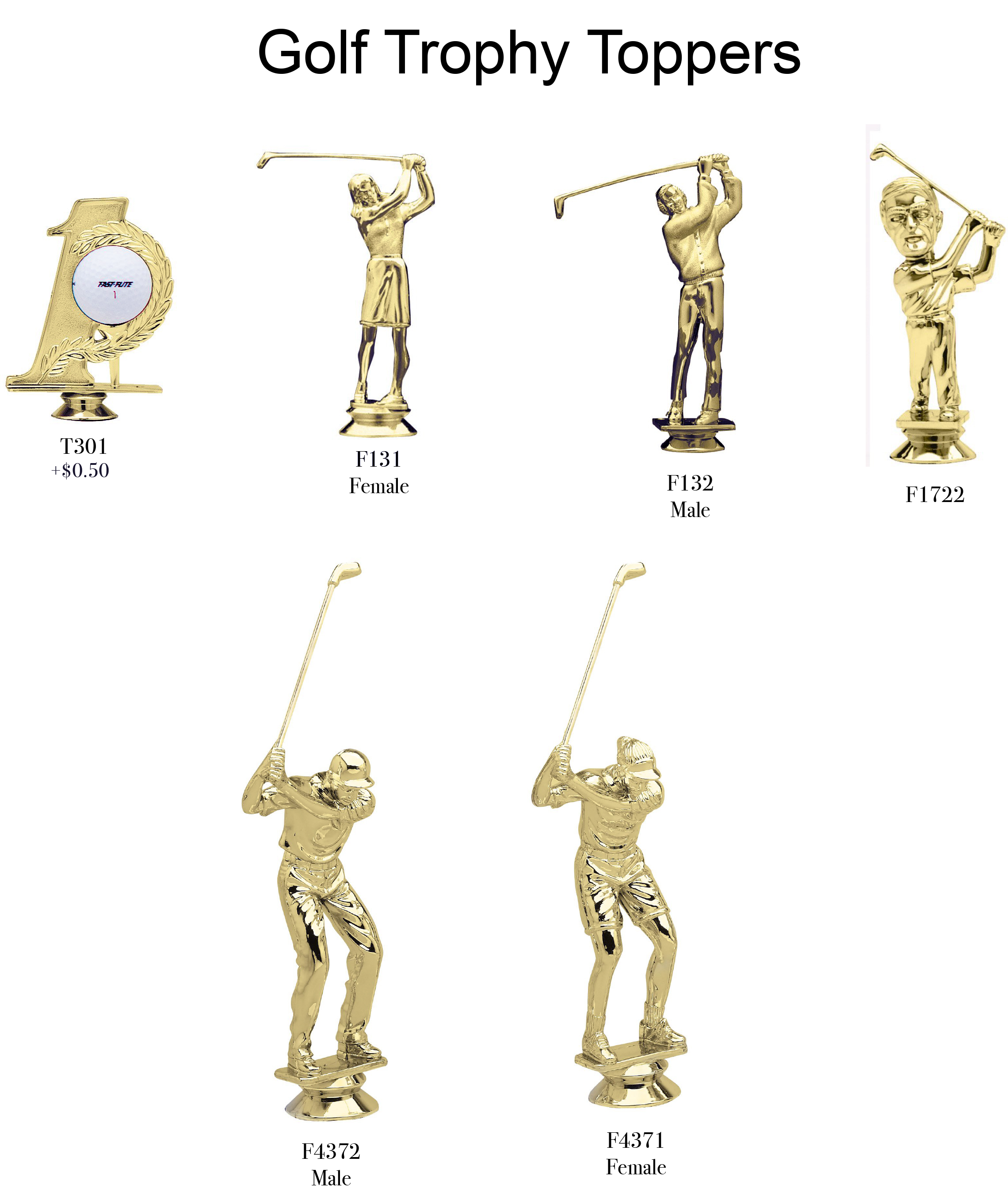 Golf Toppers 2018