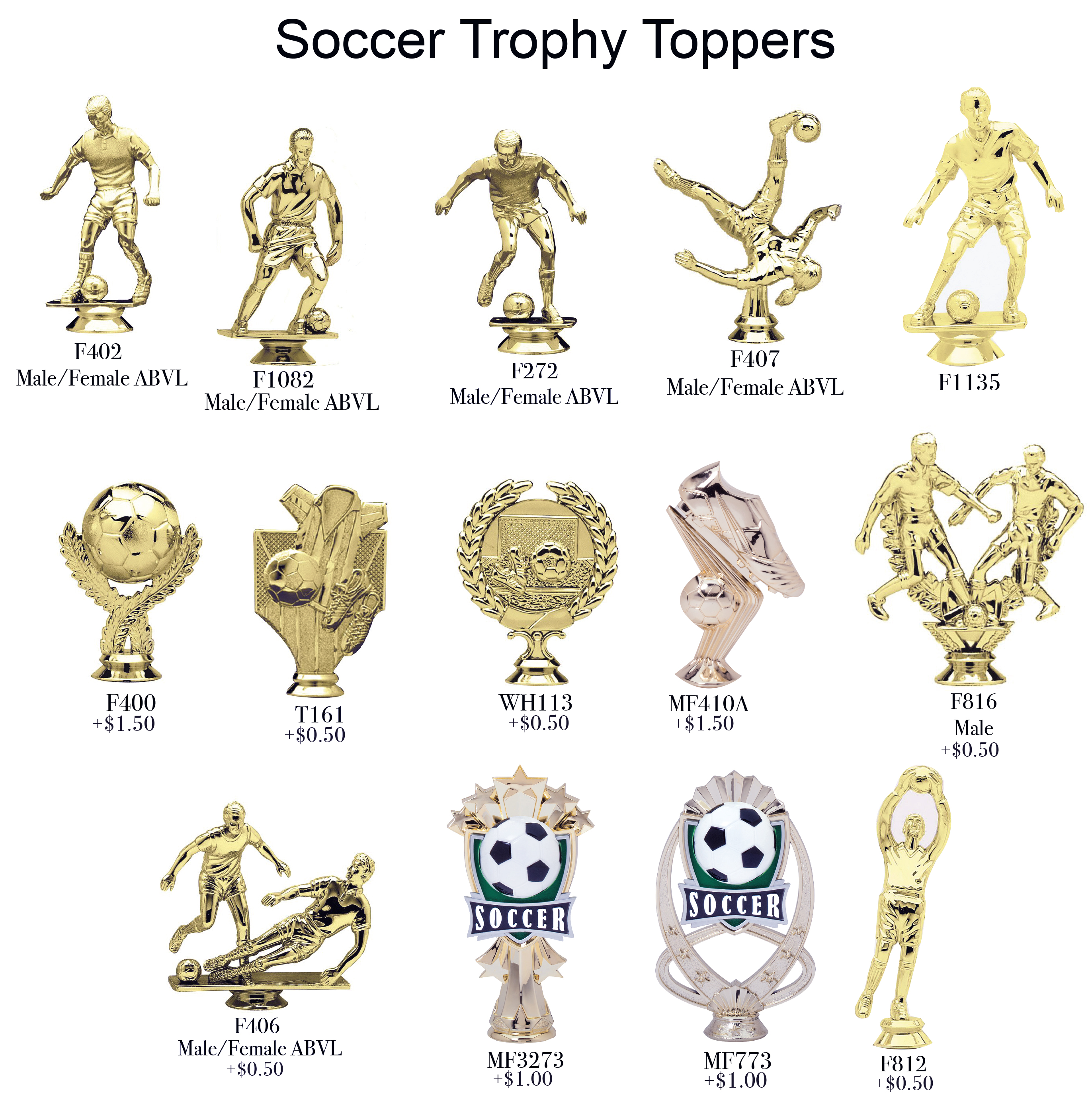 Soccer Toppers 2018