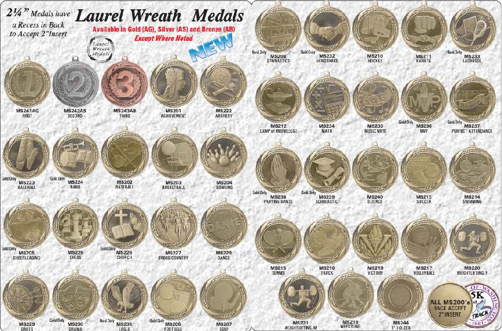Medals 2021-03