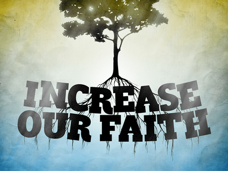Want More Faith?  Here's how...