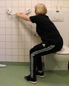 Støttegreb til badeværelset