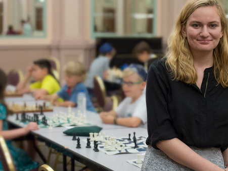 Queen's Gambit Chess Institute Teaches Game with Focus on Social Change