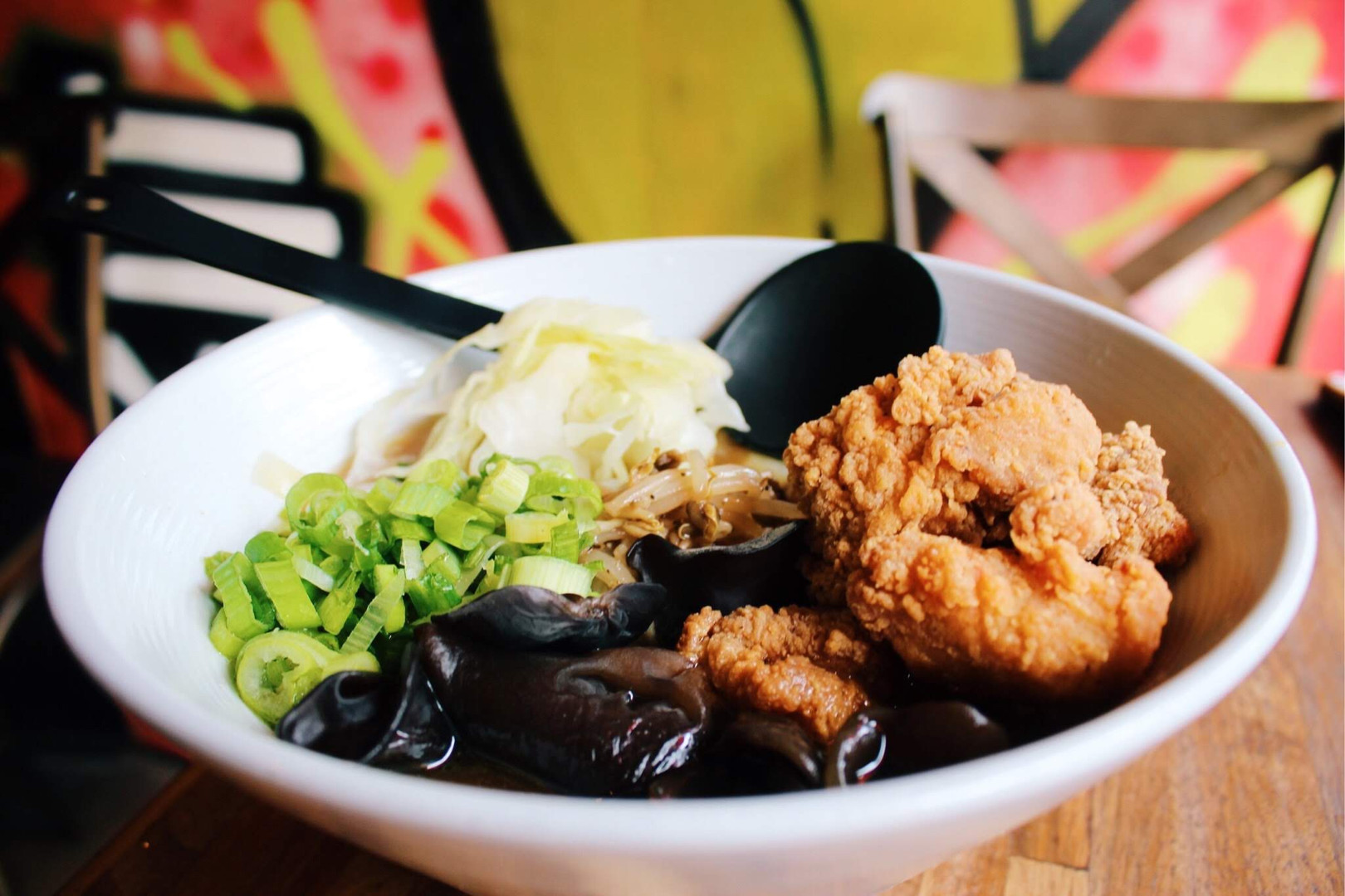 Fried chicken shoyu ramen from Pittsburgh's Ki Ramen