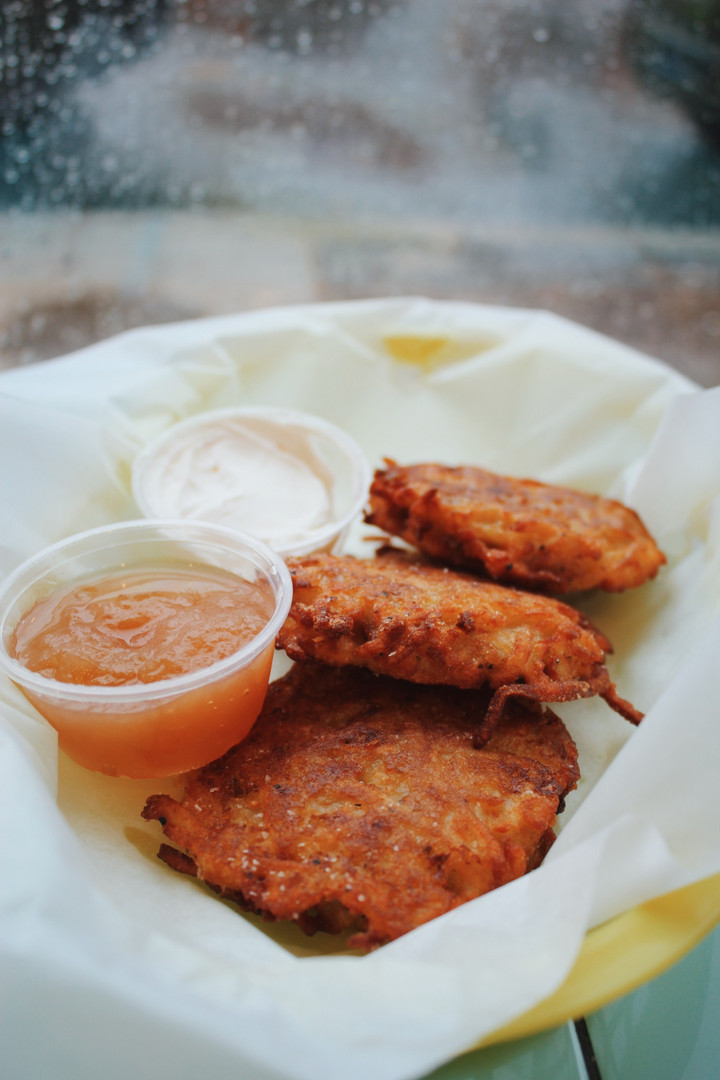 Latkes from D.C.'s Call Your Mother