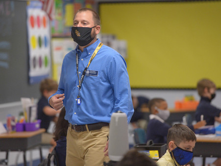 Local Teachers, Districts Find Ways to Cope During COVID