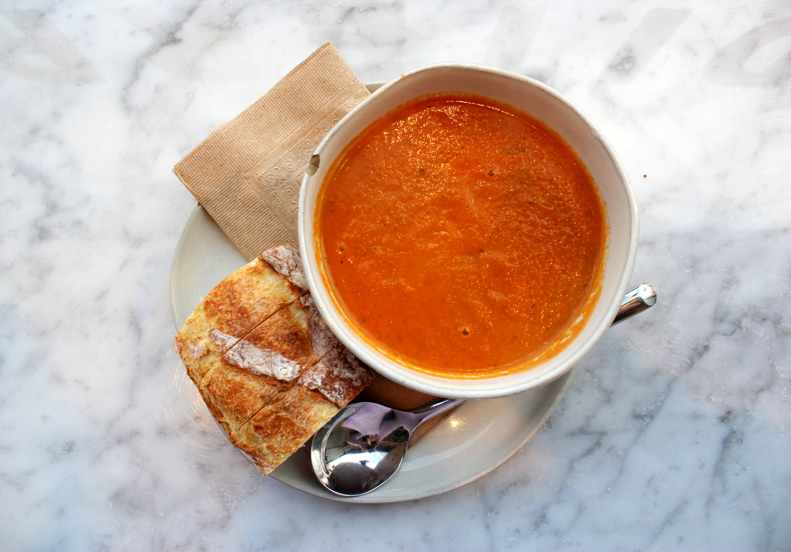 Tomato Soup from Pittsburgh's Mediterra Café