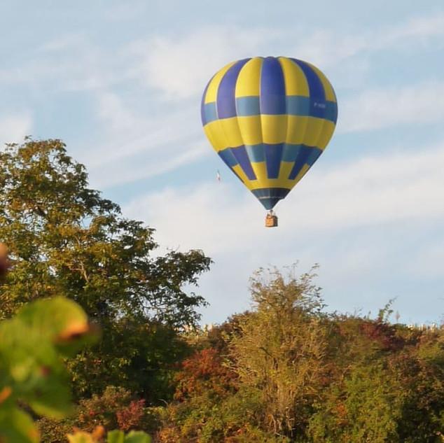 Bourgogne montgolfière