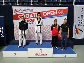 Gold bei der Kroatien Open 2019