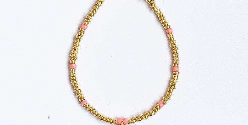 Golden dots - armbandje