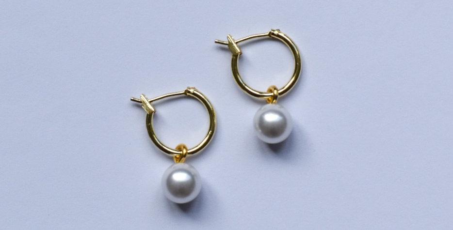 Pearly - oorbellen