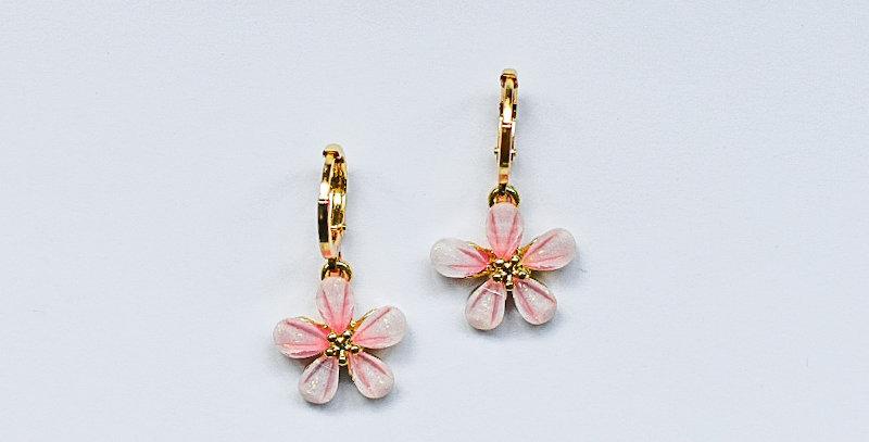 Floral - oorbellen