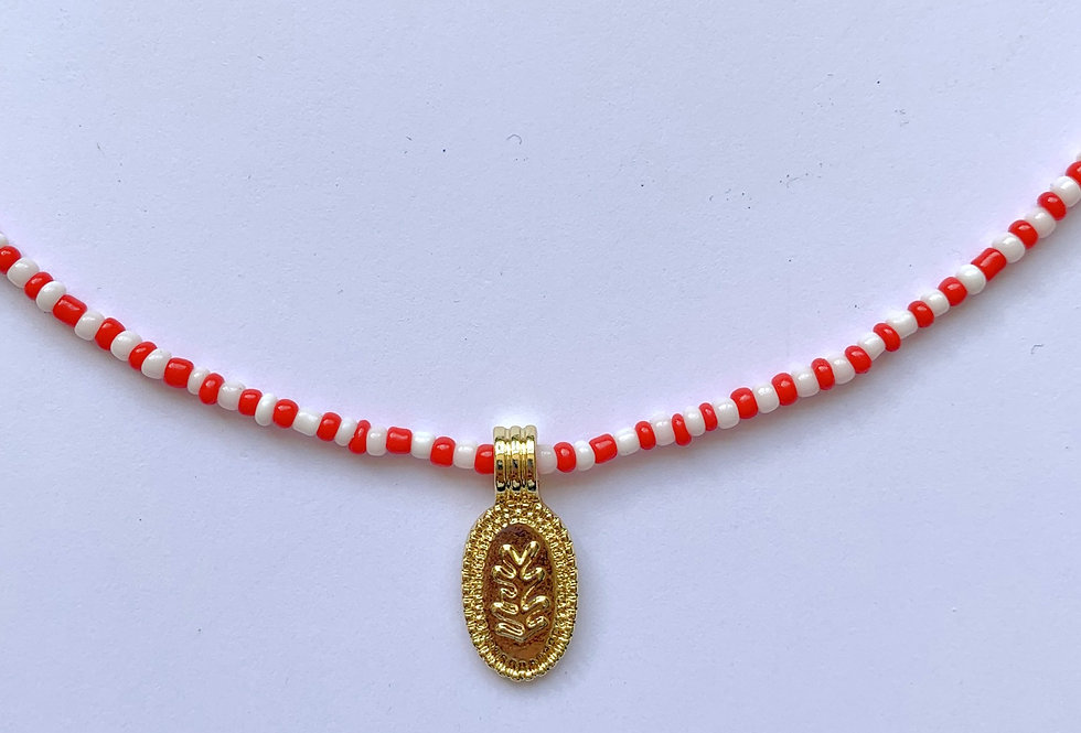 Colourful coral - ketting