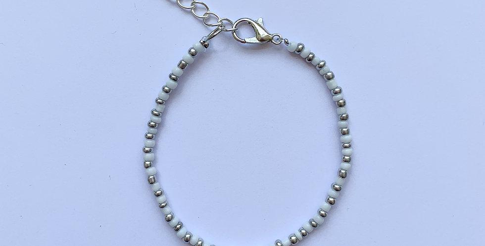 Silver luck - armbandje