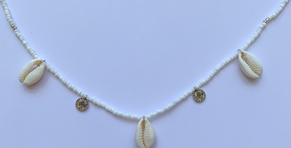 Shells and coins - ketting