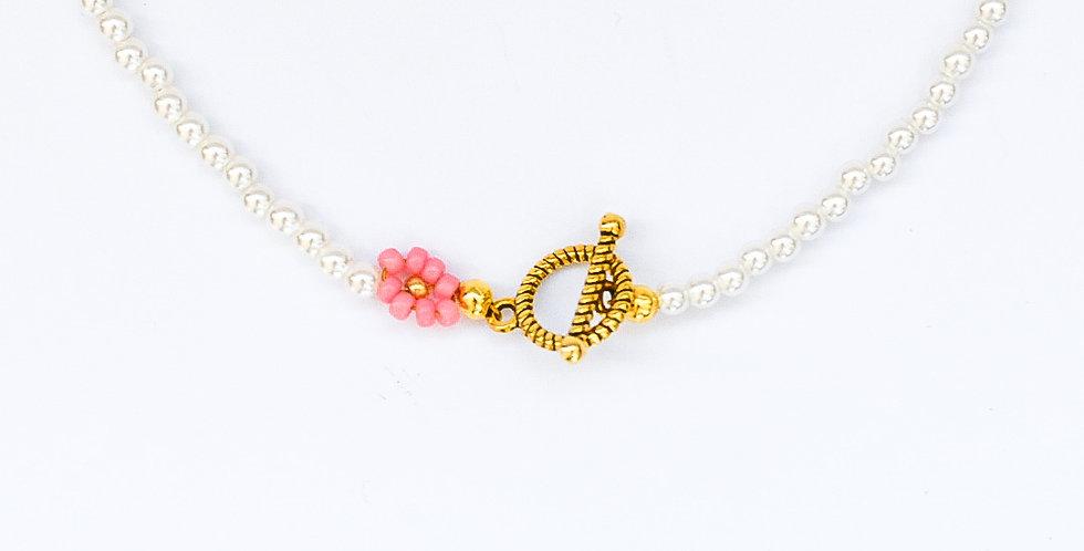 Floral pearls - ketting