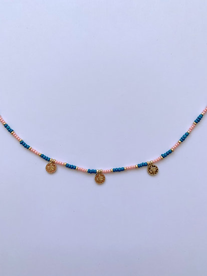 Spring coins - ketting