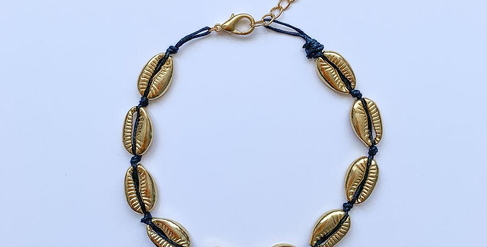 Golden shells - ketting