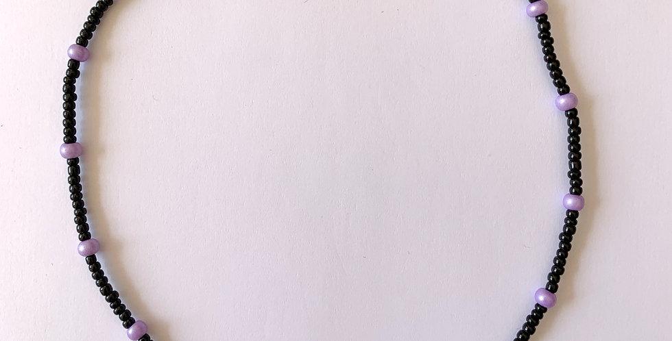 Lilac dots - ketting