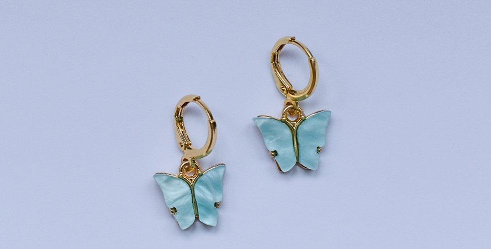 Papillon - oorbellen
