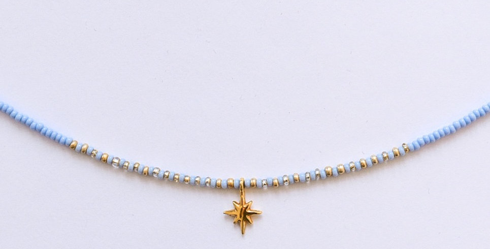 Icy star - ketting
