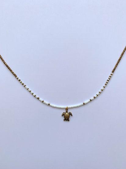 Golden turtle - ketting