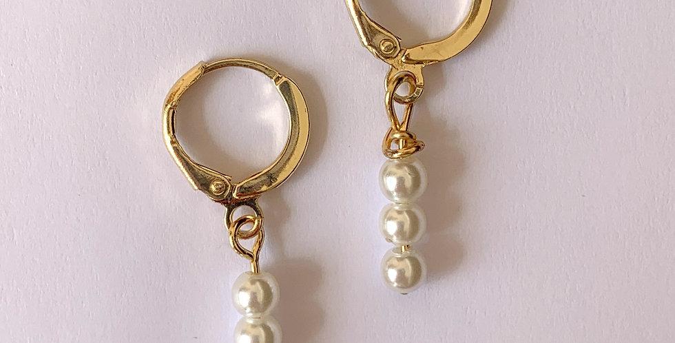 Perle - oorbellen