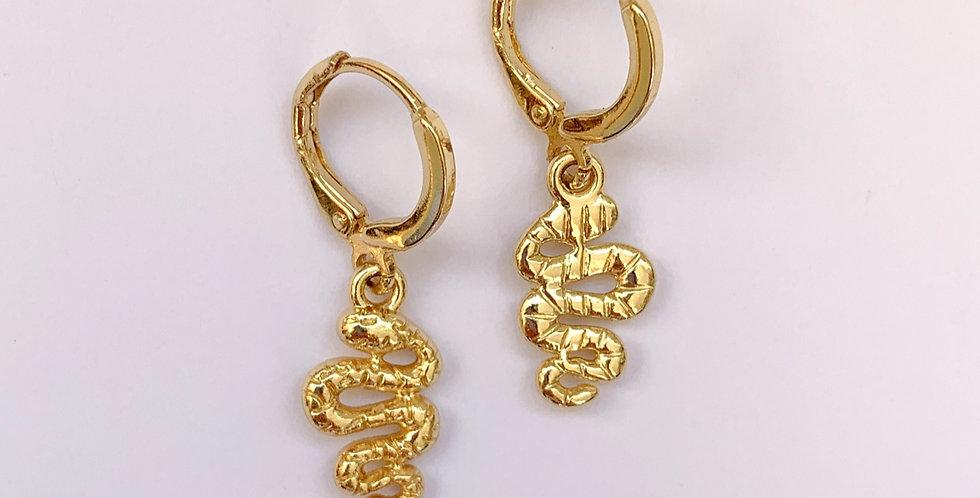 Small snake - oorbellen