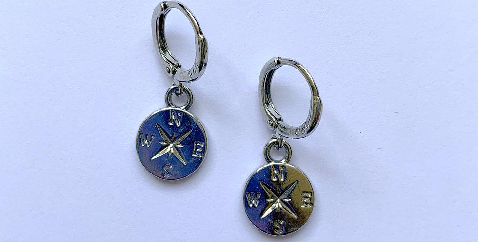 Compass - oorbellen