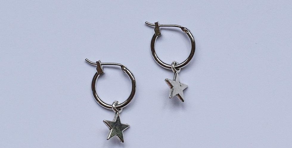 Starry night - oorbellen