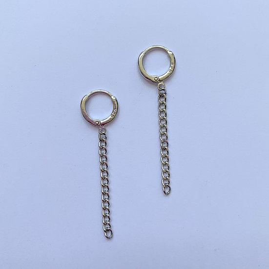 Chained - oorbellen