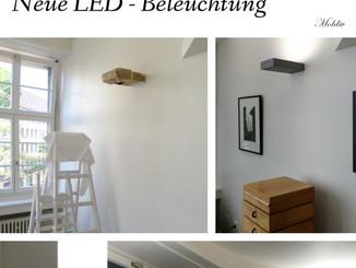 Brilliantes Licht: Neue LED Beleuchtung!